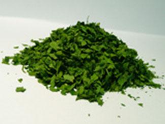 Prezzemolo in foglie essiccato